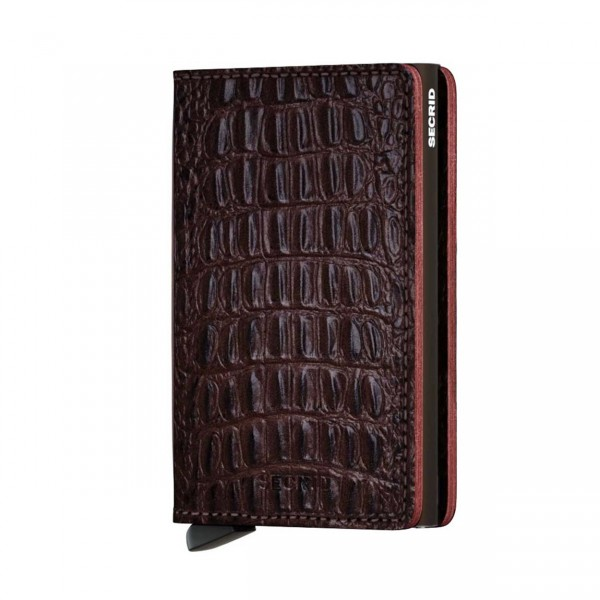 Secrid Miniwallet Sicherheitskartenetui nile brown
